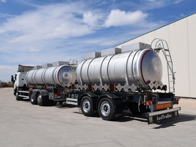 Chemiqual ADR - Tanker truck and trailer 2016-06