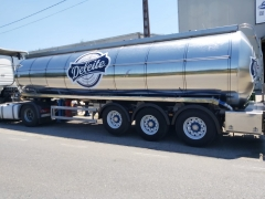 Tank  Capacity 28.000 litres, Compartments Nº: 4, Year of Manufacture: 2004, Plate Nº: R-5105-BBS
