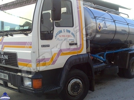 Tank  Capacity 6.000 litres, Compartments Nº: 2, Year of Manufacture: 1990, Plate Nº: 8891-BBY