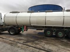 Cisterna Capacidad: 32.000 litros, Nº Compartimentos: 4, Año Fabricación: 1991, Matrícula: M-18693-R