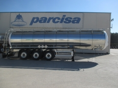 Tank  Capacity 30.000 litres, Compartments Nº: 1, Year of Manufacture: 2020, Plate Nº: C-80886 (En Stock)