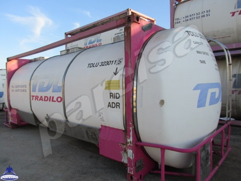 Tank  Capacity: 31.425 litres, Compartments Nº: 1, Year of Manufacture: 2001, Plate Nº: