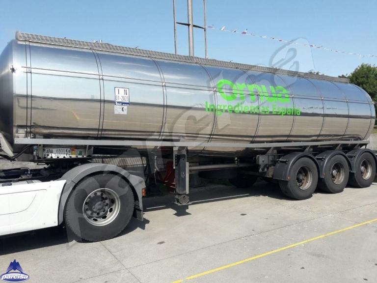 Cisterna Capacidad: 27.000 litros, Nº Compartimentos: 4, Año Fabricación: 1999, Matrícula: M-26863-R