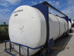 Container tank Capacity 29.990 litres, Compartments Nº: 1, Year of Manufacture: 2000, Plate Nº: 301003/6